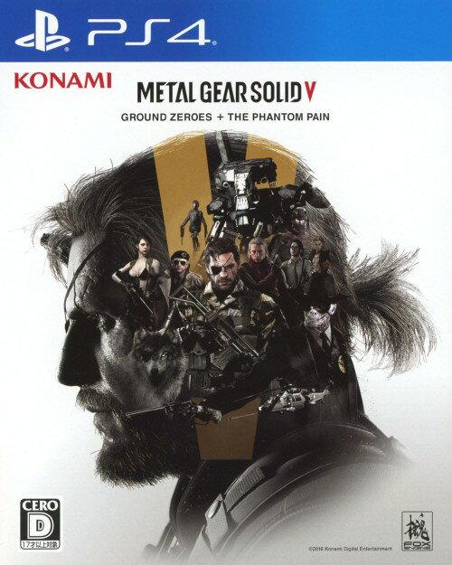 【中古】METAL GEAR SOLID5: GROUND ZEROES + THE PHANTOM PAIN