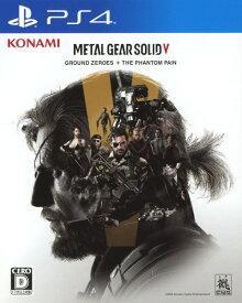 【中古】METAL GEAR SOLID5: GROUND ZEROES + THE PHANTOM PAINソフト:プレイステーション4ソフト/アクション・ゲーム