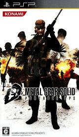 【中古】METAL GEAR SOLID PORTABLE OPS コナミ殿堂セレクションソフト:PSPソフト/アクション・ゲーム