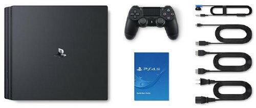 【中古】PlayStation4 Pro CUH−7000BB01 ジェット・ブラック 1TB