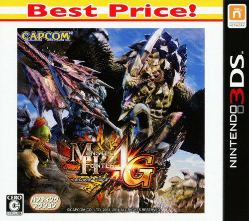【中古】MONSTER HUNTER 4G Best Price!