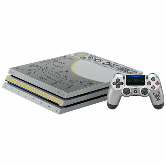 【箱説あり・付属品あり・傷なし】【18歳以上対象】PlayStation4 Pro ゴッド・オブ・ウォー リミテッドエディション (同梱版)プレイステーション4 ゲーム機本体