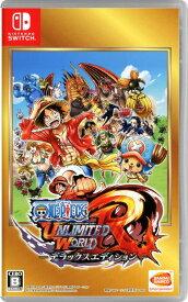 【中古】ONE PIECE アンリミテッドワールド R デラックスエディションソフト:ニンテンドーSwitchソフト/マンガアニメ・ゲーム