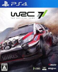 【中古】WRC7ソフト:プレイステーション4ソフト/スポーツ・ゲーム