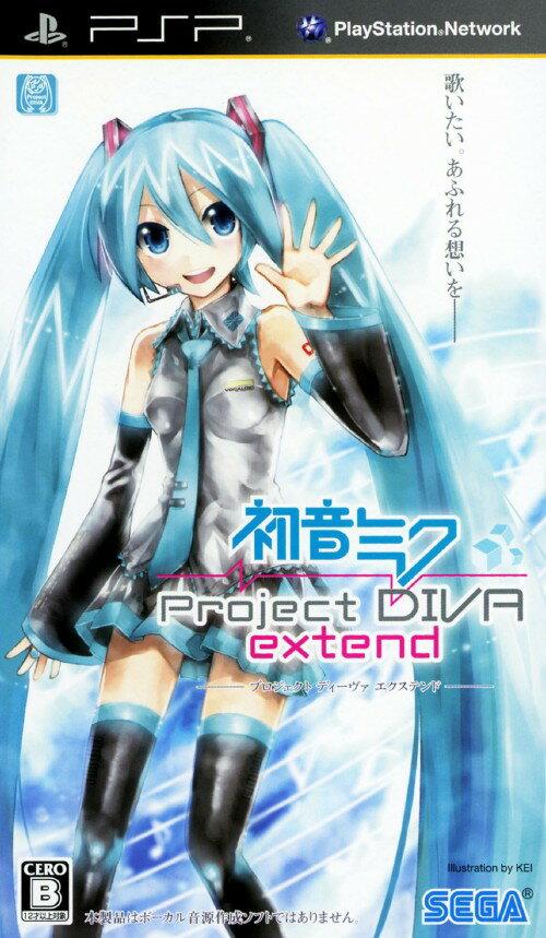 【中古】初音ミク −Project DIVA− extendソフト:PSPソフト/リズムアクション・ゲーム