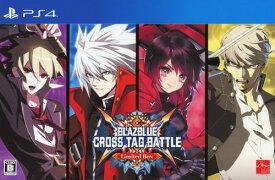【中古】BLAZBLUE CROSS TAG BATTLE Limited Box (限定版)ソフト:プレイステーション4ソフト/アクション・ゲーム
