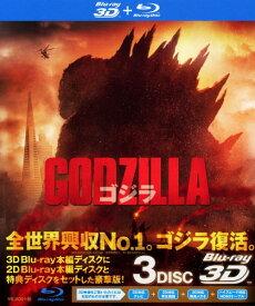 【中古】GODZILLA ゴジラ (2014) 3D&2D 【ブルーレイ】/アーロン・テイラー=ジョンソンブルーレイ/洋画SF