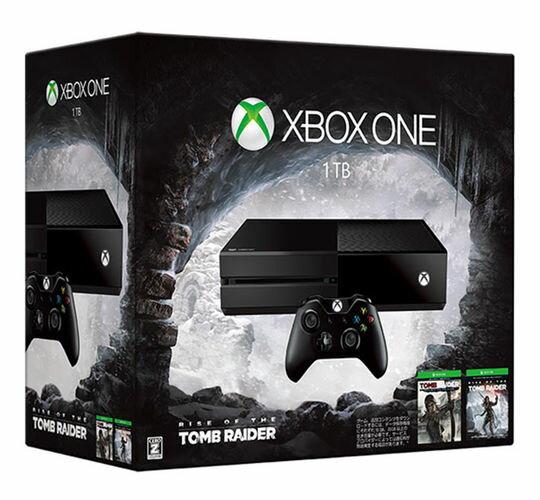 【箱説あり・付属品あり・傷なし】【18歳以上対象】Xbox One 1TB(Rise of the Tomb Raider 同梱版) (限定版)XboxOne ゲーム機本体