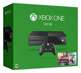 【中古・箱説あり・付属品あり・傷なし】Xbox One 500GB (バトルフィールド1 同梱版)XboxOne ゲーム機本体
