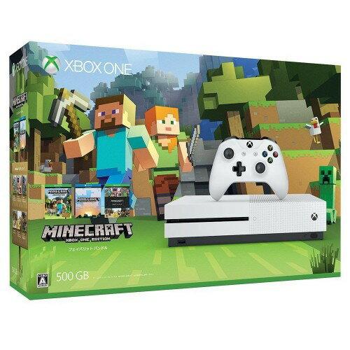 【中古・箱有・説明書無】Xbox One S 500GB (Minecraft 同梱版)