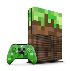 【中古・箱説あり・付属品あり・傷なし】Xbox One S 1TB Minecraft リミテッド エディションXboxOne ゲーム機本体