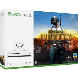 【中古・箱説あり・付属品あり・傷なし】Xbox One S 1TB (PlayerUnknown's Battlegrounds 同梱版)XboxOne ゲーム機本体