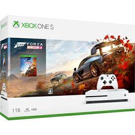 【中古・箱説あり・付属品あり・傷なし】Xbox One S 1TB (Forza Horizon 4 同梱版)XboxOne ゲーム機本体