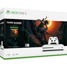 【中古・箱説あり・付属品あり・傷なし】【18歳以上対象】Xbox One S 1TB (シャドウ オブ ザ トゥームレイダー同梱版)XboxOne ゲーム機本体
