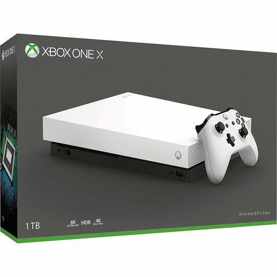 【箱説あり・付属品あり・傷なし】Xbox One X ホワイトスペシャルエディションXboxOne ゲーム機本体