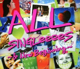 【中古】ALL SINGLeeeeS〜&New Beginning〜(初回限定盤)(2CD+2DVD)/GReeeeNCDアルバム/邦楽
