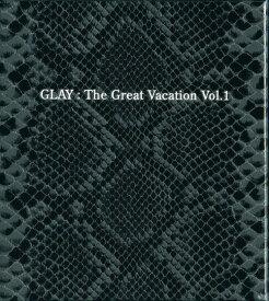 【中古】THE GREAT VACATION VOL.1〜SUPER BEST OF GLAY(初回限定盤B)(DVD付)/GLAYCDアルバム/邦楽