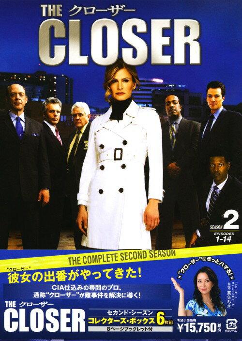 【中古】クローザー 2nd コレクターズ BOX 【DVD】/キーラ・セジウィック