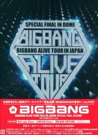【中古】初限)BIGBANG ALIVE TOUR 2012 IN JAPAN… 【ブルーレイ】/BIGBANGブルーレイ/映像その他音楽