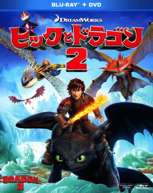 【中古】初限)2.ヒックとドラゴン BD&DVD 【ブルーレイ】/ジェイ・バルチェル