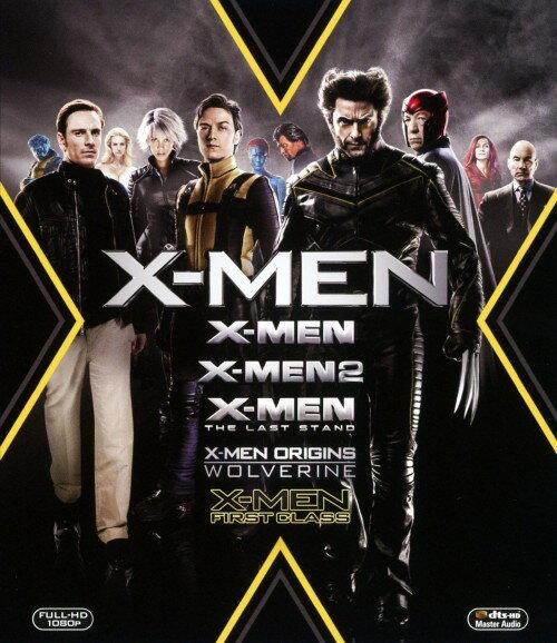 【中古】X−MEN コンプリート ブルーレイBOX <初回限定生産版>/ヒュー・ジャックマンブルーレイ/洋画SF