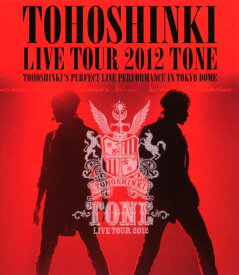 【中古】東方神起/LIVE TOUR 2012 〜TONE〜 【ブルーレイ】/東方神起ブルーレイ/映像その他音楽