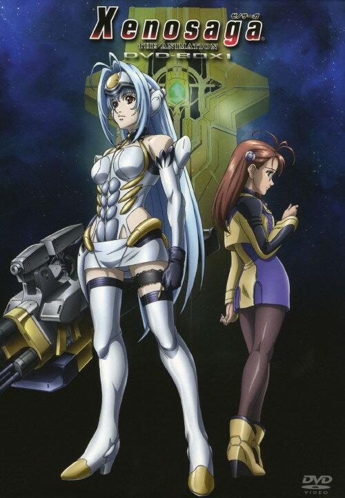 【中古】Xenosaga ゼノサーガ THE ANIMATION DVD−BOX 1 <初回限定生産版>/前田愛