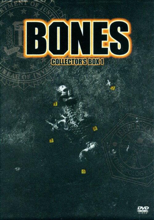 【中古】BONES ボーンズ −骨は語る− DVDコレクターズBOX 1 <初回限定生産:「X−ファイル ザ・ムービー」DVD付>/エミリー・デシャネルDVD/海外TVドラマ