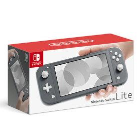 【中古・箱説あり・付属品あり・傷なし】Nintendo Switch Lite グレーニンテンドーSwitchLite ゲーム機本体