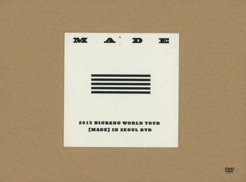 【中古】初限)2015 BIGBANG WORLD TOUR MADE IN… 【DVD】/BIGBANGDVD/映像その他音楽