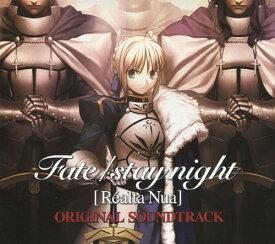 【中古】Fate/stay night[Realta Nua]ORIGINAL SOUNDTRACK(初回限定盤)/ゲームミュージックCDアルバム/アニメ