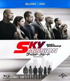 【中古】ワイルド・スピード SKY MISSION BD+DVDセット 【ブルーレイ】/ヴィン・ディーゼルブルーレイ/洋画アクション