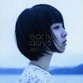 【中古】early days/綾野ましろCDアルバム/アニメ