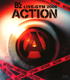 【中古】B'z LIVE-GYM 2008 ACTION 【ブルーレイ】/B'zブルーレイ/映像その他音楽