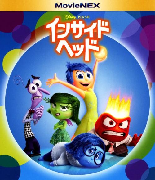 【中古】インサイド・ヘッド MovieNEX BD+DVDセット 【ブルーレイ】/エイミー・ポーラー