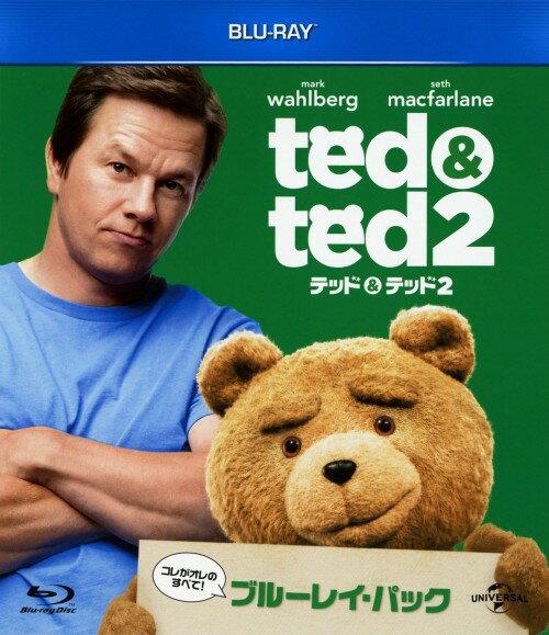 【中古】テッド&テッド 2 Blu−rayパック <初回生産限定版>/マーク・ウォールバーグブルーレイ/洋画コメディ