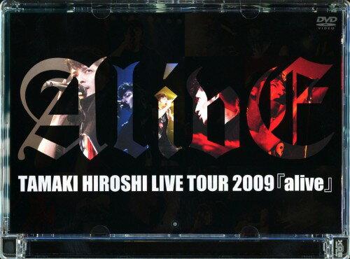 【中古】TAMAKI HIROSHI LIVE TOUR 2009 alive/玉木宏DVD/映像その他音楽