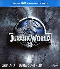 【中古】ジュラシック・ワールド(2015)3D BD&DVDセット 【ブルーレイ】/クリス・プラットブルーレイ/洋画SF