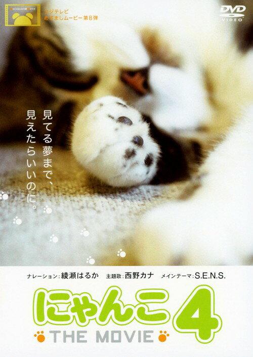 【中古】にゃんこ THE MOVIE 4/綾瀬はるかDVD/邦画ファミリー&動物