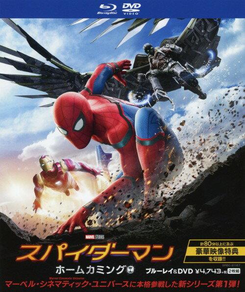 【中古】スパイダーマン:ホームカミング ブルーレイ&DVDセット/トム・ホランドブルーレイ/洋画SF