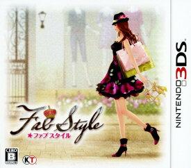【中古】FabStyleソフト:ニンテンドー3DSソフト/シミュレーション・ゲーム
