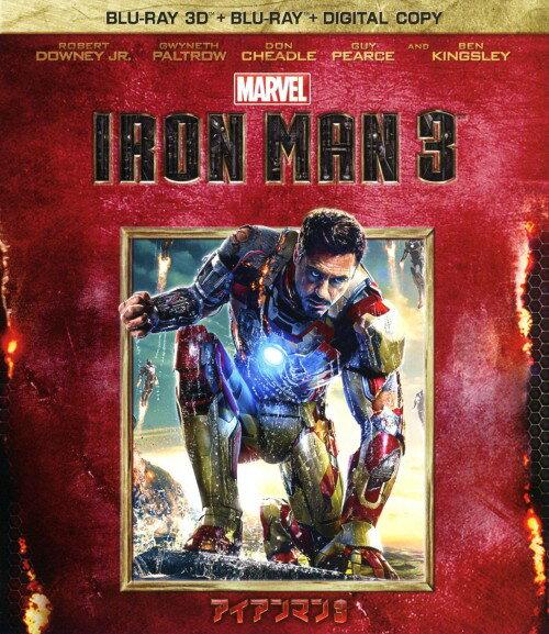 【中古】アイアンマン 3 3Dスーパー・セット/ロバート・ダウニー・Jr.ブルーレイ/洋画SF