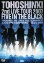 【中古】東方神起/2nd LIVE TOUR 2007 〜Five in The Black〜 <初回限定版>/東方神起DVD/映像その他音楽