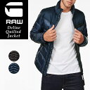 SALEセール10%OFF【送料無料】G-STAR RAW ジースターロウ ダウンジャケット 長袖 メンズ D09658-A579 Deline Quilted Jacket 大きいサイズ 【郵便局/コンビニ受取対応】