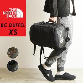 ノースフェイス THE NORTH FACE ダッフルバッグ BC ダッフル XS メンズ メンズ ボストン リュック バックパック NM81816 通勤 通学 キャンプ アウトドア フェス 自転車