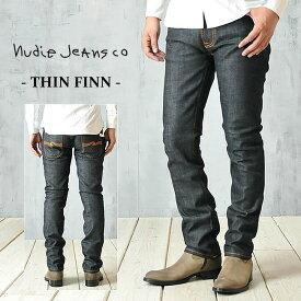 """SALEセール10%OFF【Nudie jeans ヌーディージーンズ】送料無料!定番人気のスキニータイプ""""Thin finn""""(シンフィン)濃色 111085/39161-1005 COL.934(130)【gs2】"""