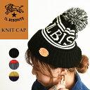 正規取扱店 イルビゾンテ IL BISONTE ロゴ ニット帽 ボンボン付きニットキャップ 帽子 54182309483 メンズ レディース…