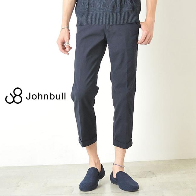 裾上げ無料 ジョンブル Johnbull コンフォートトラウザーパンツ 11954