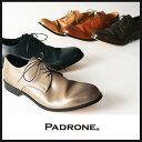 PADRONE パドローネ パドロネ【ポイント10倍/送料無料】JACK ジャック ダービープレーントゥシューズ メンズ 革靴 短靴 PU7358-2001-11C【郵便局/コンビニ受取対応】