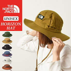 2021春夏新色 国内正規品 ノースフェイス THE NORTH FACE ホライズンハット メンズ レディース ハット 帽子 つば広 アウトドア フェス キャンプ トレッキング UV 撥水 ホライゾンハット NN41918【gs2】